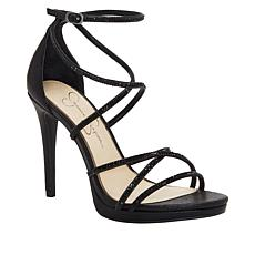 Jessica Simpson Jaeya Strappy Rhinestone Dress Sandal