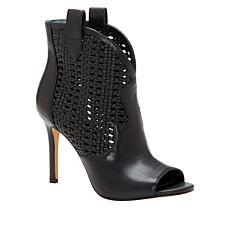 Jessica Simpson Jexell Leather Peep-Toe Shootie