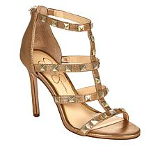 Jessica Simpson Jiria Studded Caged Dress Sandal