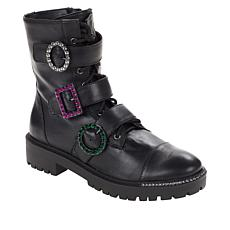 Jessica Simpson Kirlah Fashion Combat Boot