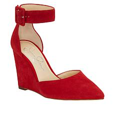Jessica Simpson Moyra Suede Wedge Pump