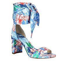Jessica Simpson Narella Printed Fabric Dress Sandal