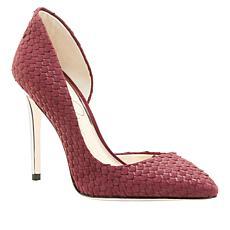 Jessica Simpson Pheona Textured Leather Pointed-Toe Pump