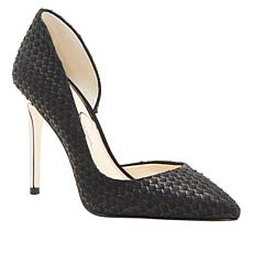 Jessica Simpson Pheona Textured Leather Pointed-Toe Pump