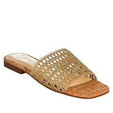 Jessica Simpson Rilane Stretch Crochet Slide