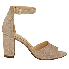 Jessica Simpson Sherron Sparkle Fabric Dress Sandal
