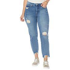 Jessica Simpson Spotlight High-Rise Slim Straight Jean