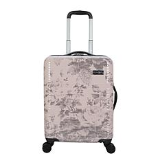 Jessica Simpson Winterbloom 20-inch Hardside Luggage