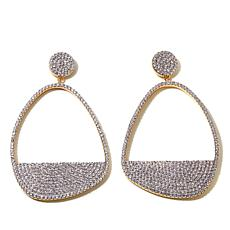 "Jewels by Jen ""Sparkling Waters"" Drop Earrings"