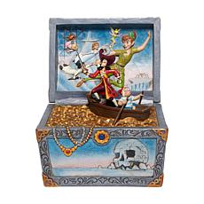 Jim Shore Disney Traditions - Peter Pan Treasure Chest