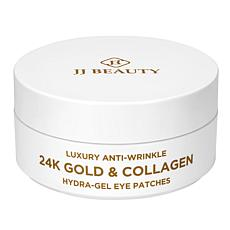 JJ Beauty 24K Gold & Collagen 60-piece Eye Patches