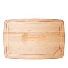 "JK Adams 24"" Reversible Carving Board with Pour Spouts"