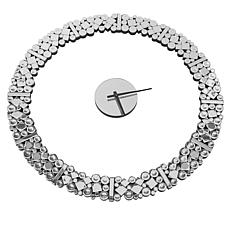 JM by Julien Macdonald Crystal Wall Clock