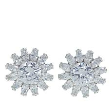"Joan Boyce Dana's ""Floral Favorite"" CZ Stud Earrings"