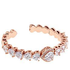 "Joan Boyce Kimberly's ""Couture Cuff"" Heart Bracelet"