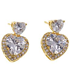 "Joan Boyce Lucy's ""You've Stolen My Heart"" Drop Earrings"
