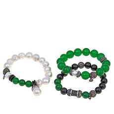 "Joan Boyce ""Mother's Got Good Taste"" 3pc Bracelet Set"