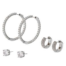"Joan Boyce ""Once in a Lifetime""  3-piece Earrings Set"