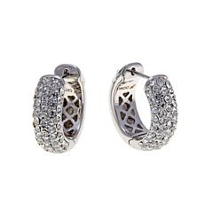 "Joan Boyce ""Petite Pavé Perfection"" Hoop Earrings"