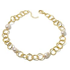 "Joan Boyce ""Uptown Girl"" Simulated Pearl Necklace"