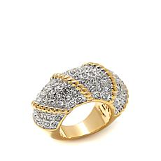 "Joan Boyce ""Wrapped up in You"" Pavé Crystal Ring"