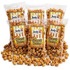 Jody's Gourmet Popcorn 6-pack - Peanut Butter Popcorn