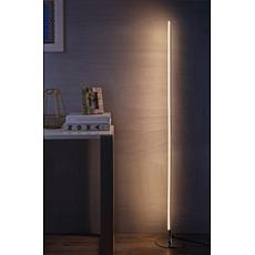 "JONATHAN Y Chrome Iris 59.5"" LED Integrated Floor Lamp"