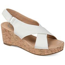 Journee Collection Women's Comfort Foam Jenice Wedge Sandal