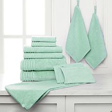 JOY 11-piece Set Supreme Stretch™ Bleach/Cosmetic-Resistant Towels