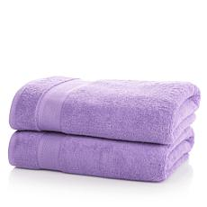 JOY 2pc Large Bleach/Cosmetic-Resistant Towels