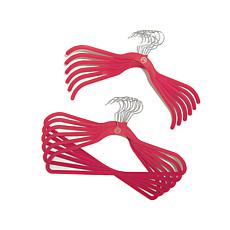 JOY 50pc Huggable Hangers® w/Under-the-Bed Storage and More  - Chrome
