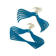 JOY 50pc Huggable Hangers® w/Under-the-Bed Storage and More  - Brass