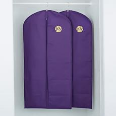 JOY Huggable Hangers® Garment Bags 2-pack - Brass