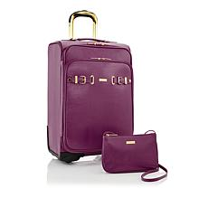 JOY Luxe Leather Lizard-Embossed City Collection 2-piece Luggage Set