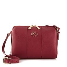 JOY Metallic E*Lite Leather Crossbody with RFID Protection
