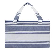 JOY Resort Chic Convertible 2-in-1 Tote to Beach Towel