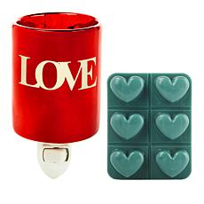 JOY Sentiments Forever Fragrant® Mini Wax Warmer with 6pk Heartmelts