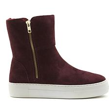 J/Slides NYC Alli Suede Zip-Up Sneaker Boot