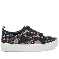 J/Slides NYC Assure Floral-Embroidered Sneaker