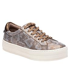 J/Slides NYC Hippie Snake-Embossed Lace-Up Sneaker