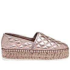 J/Slides NYC Renata Quilted Slip-on Espadrille