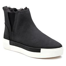 J/Slides NYC Val Waterproof Nubuck Leather Sneaker Bootie
