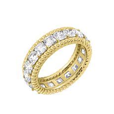 Judith Ripka Cushion-Cut Diamonique® Eternity Band Ring