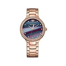 "Juicy Couture ""Catalina"" Rosetone Multicolor Dial Watch"