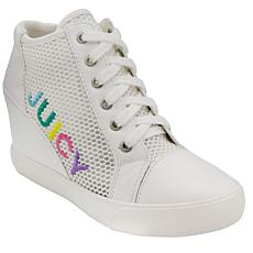 Juicy Couture Jump Mesh Platform Wedge Sneaker