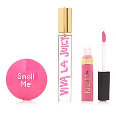 Juicy Couture Viva La Juicy Eau de Parfum and Lip Gloss Set