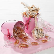 JulieAnn Caramels Set of 2 Pink Easter Pails
