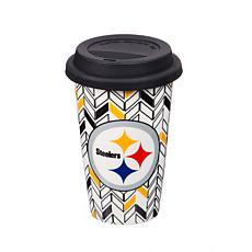 Just Add Color, Travel Cup, Chevron - Pittsburgh Steelers