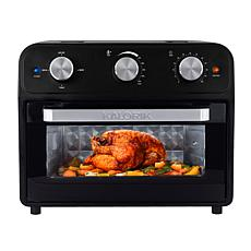 Kalorik 22-Quart Air Fryer Toaster Oven - Black