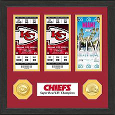Kansas City Chiefs Road to Super Bowl LIV Ticket Collection